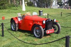 中国国际老爷车展之1928年的奥斯汀7