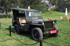 中国国际老爷车展之Jeep鼻祖威利斯