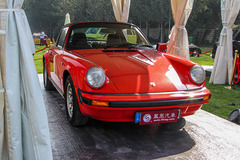 中国国际老爷车展之保时捷911 Targa