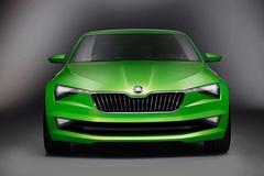 斯柯达携概念车Vision C亮相广州车展
