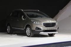 2014广州车展:标致新3008售15.97万起