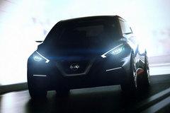 日产发布Sway概念车预告图 将3月首发