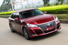 试驾丰田全新皇冠 延续传统敢于革新