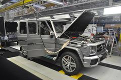 探秘奔驰G级车生产线 走进斯太尔工厂
