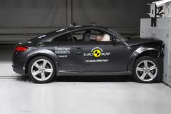 全新奥迪TT碰撞解析 E-NCAP新规解读