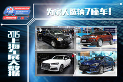 2015上海车展大数据:为家人选7座车