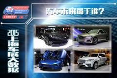 2015上海车展大数据:汽车未来属于谁