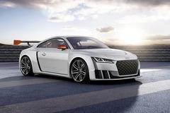 奥迪TT新概念车官图 配电子涡轮发动机