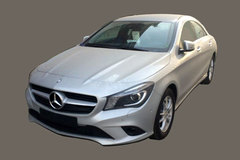 国产奔驰CLA低配车首曝 造型小幅调整