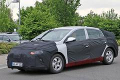 现代全新混动车测试谍照 预计明年发布
