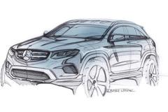 奔驰GLC车型设计图曝光 6月17日首发