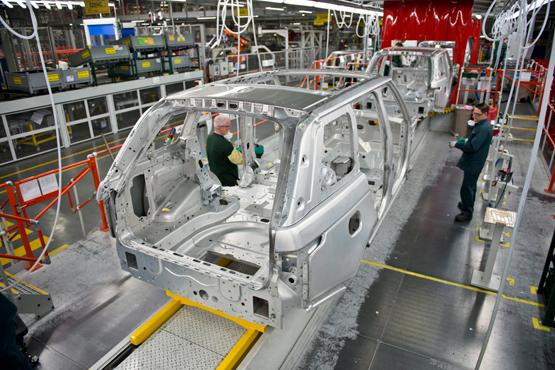 德国尼玛克焊钳……走进吉利宁波春晓工厂,国内自动化
