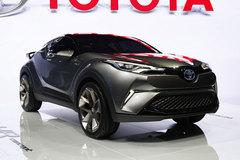 2015法兰克福车展:丰田C-HR概念车
