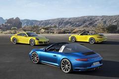 保时捷911三款车型官图发布 细节小改