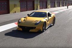 法拉利F12TDF实车 百公里加速仅2.9秒