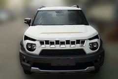 北京BJ20量产版谍照曝光 定位小型SUV