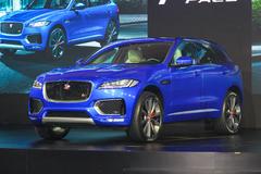 捷豹首款SUV车型F-PACE国内首次亮相