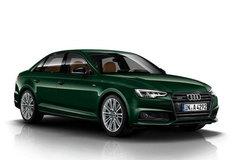 全新奥迪A4特别版官图 采用深绿色涂装