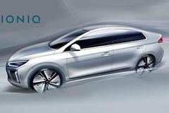现代新能源车IONIQ官图曝光 明年发布