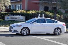 福特将与谷歌打造自动汽车 2016CES展出
