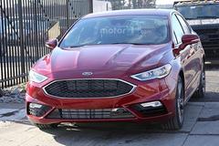 福特Fusion实车图曝光 亮相北美车展