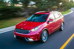 起亚Niro官方图片发布 定位紧凑型SUV