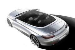 奔驰全新C级敞篷设计图 日内瓦首发