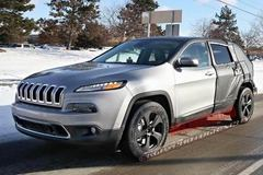 Jeep自由光疑似7座版谍照 轴距不变