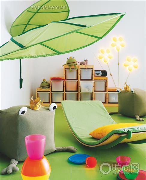 彩虹般绚丽儿童房壁纸 奇思妙想的童话世界