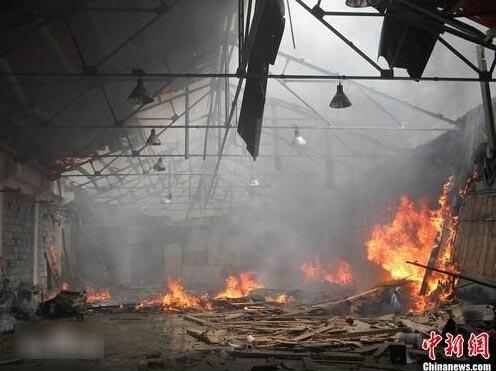 近年来江苏境内化工厂起火、爆炸等事故概览