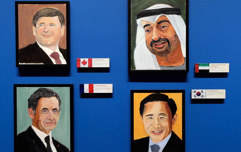 美国前总统小布什退休后大展才艺,他的各国领袖肖像画作这个周末在德州展出,他希望能受到这些领导人的欣赏。现年67岁的布什在2009年1月离开白宫后开始拿起画笔。