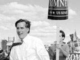 罗姆尼与肯尼迪总统之弟同场竞技 首次竞选惨败