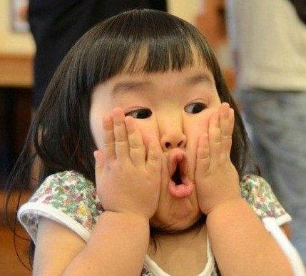 """最近在日本最红的当属""""表情女帝大人""""了,这个四岁女孩Aries又有图片"""