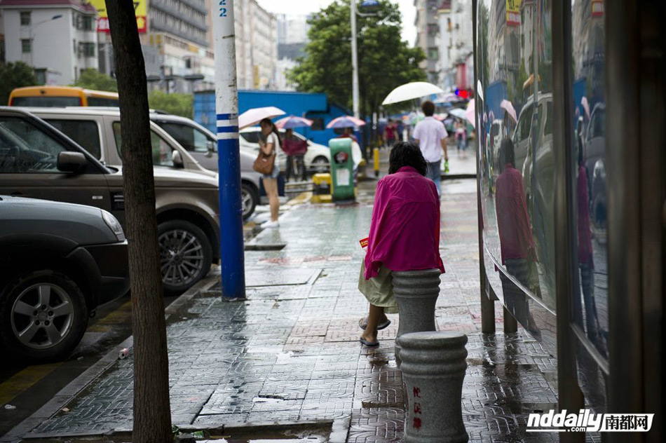深圳流浪女怀孕流落街头图片