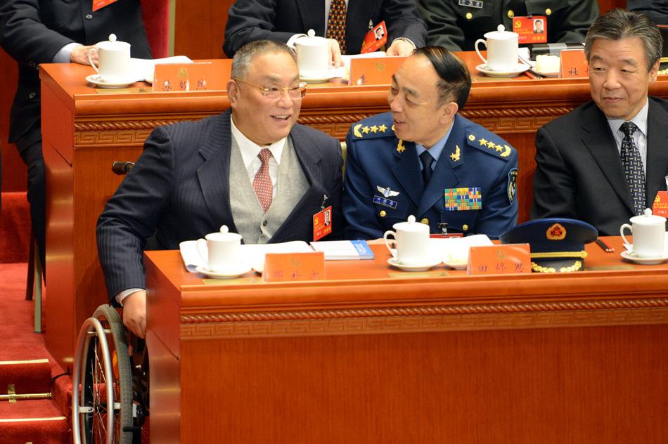 邓朴方出席十八大_资讯频道_凤凰网