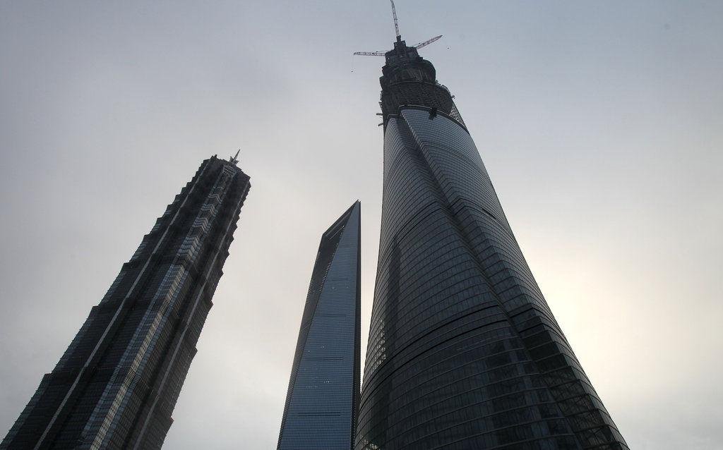 上海第一高楼封顶