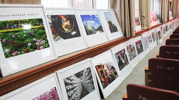 """""""美丽咸阳""""摄影作品巡回展在陕邮职院展出"""