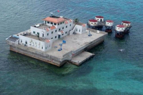 外媒:中国全面建设南海岛礁
