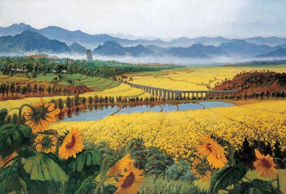 """中国十大身价最高的""""红色经典""""画 - 蜜蜂 - 天下人间乐园"""