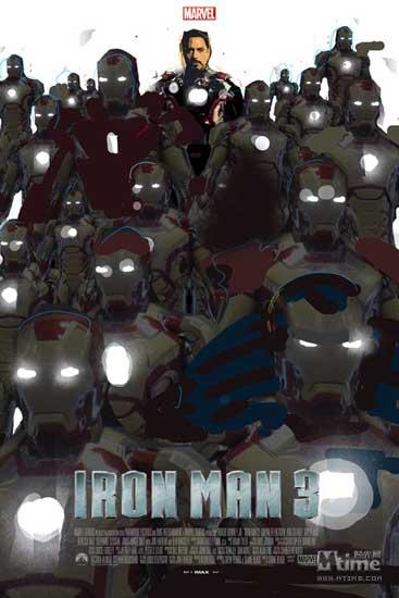 钢铁侠3 内地票房近4亿 超今年所有引进片 高清图片