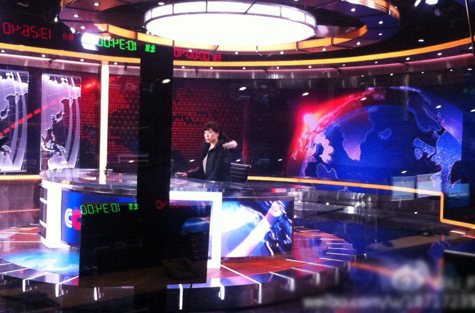 《新闻联播》国际范儿新演播室:超美国水准