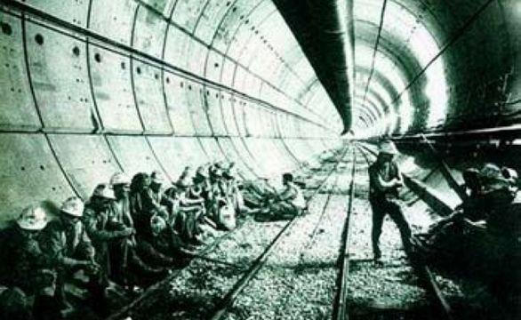 世界第二长 英法海底隧道