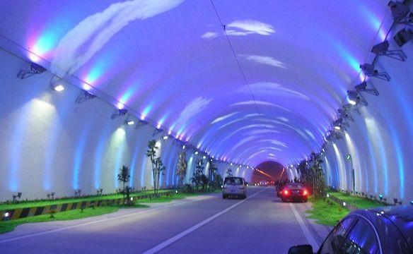 世界上最长的沉入式隧道
