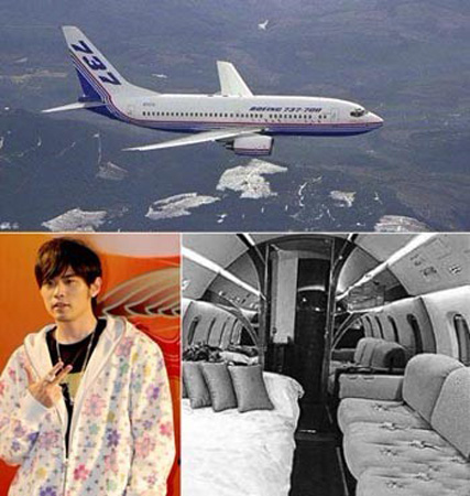 十大拥有私人飞机的中国明星[图集]
