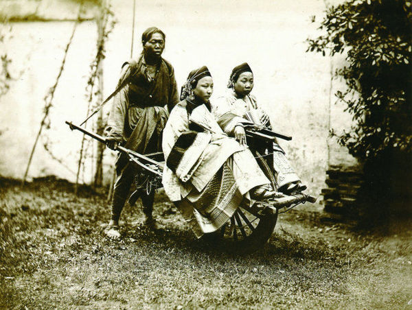 中国最早拍摄的晚清三教九流 - 闲云野鹤 - 闲云野鹤的博客