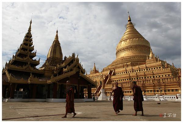 是第一座缅甸风格的佛塔