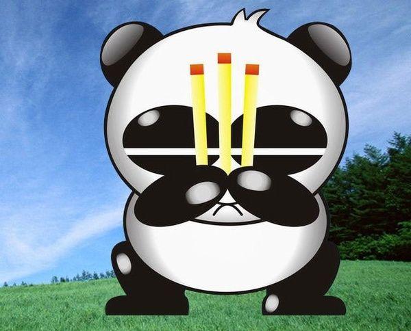 熊猫烧香 二进宫与 水漫金山 蓝屏门图片