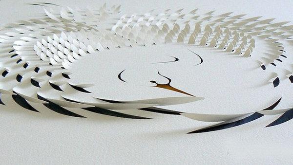精美绝伦的立体剪纸…【组图】 - 月落台阁 - 月落台阁