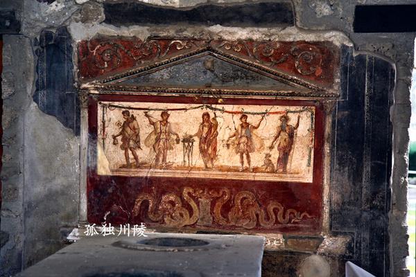 具有典雅的装饰感.-庞贝古城的壁画与生殖崇拜 图图片