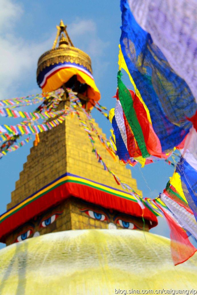 尼泊尔游记:实拍全世界最大的圆佛塔-博达哈大佛塔!